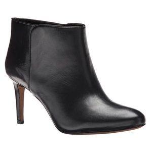 Nine West Valid Leather Ankle Booties